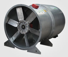 Axial Fan with both side Sound attenuator